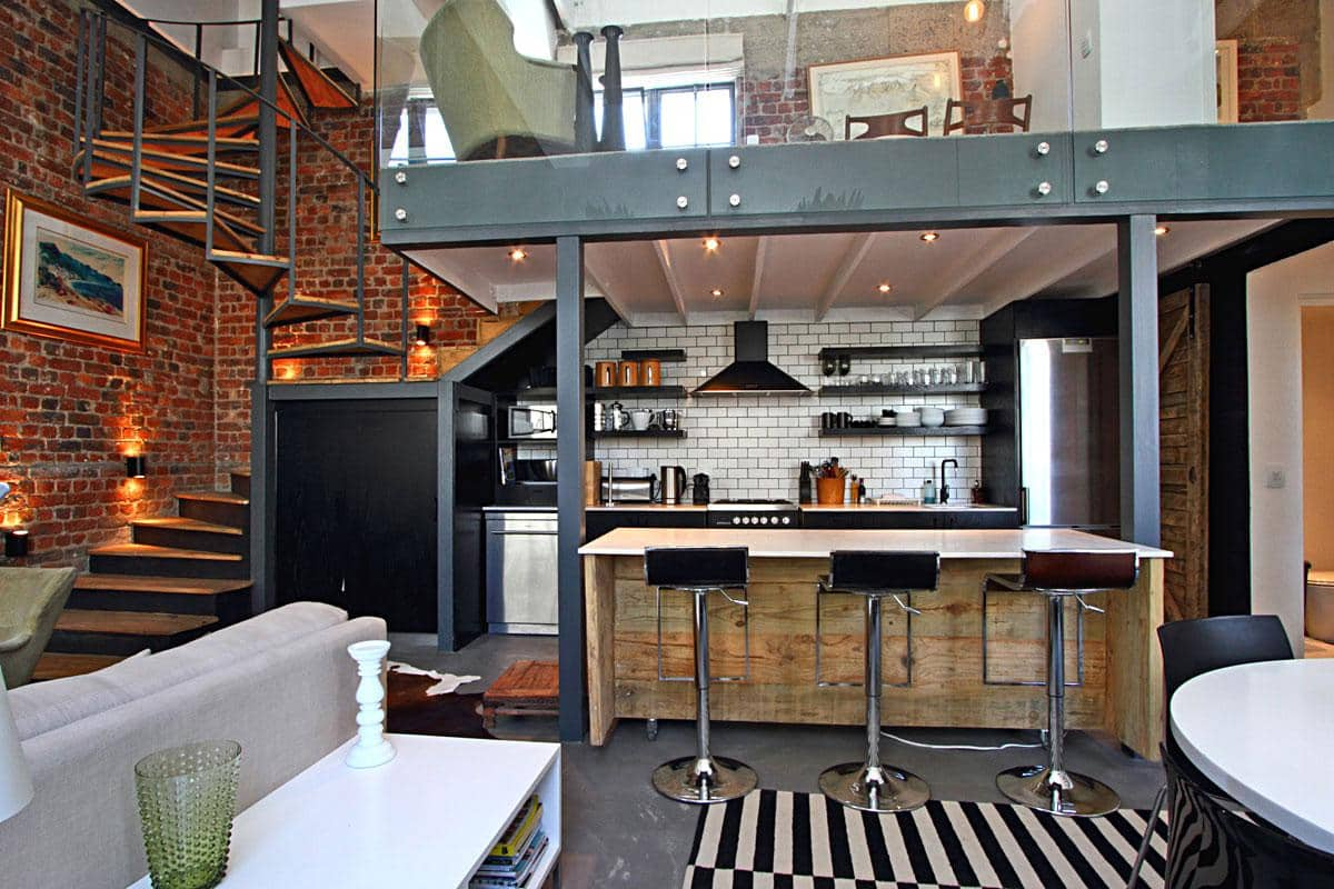 Bandar place holiday rental in cape town 39 s city centre for Kitchen inc cape town