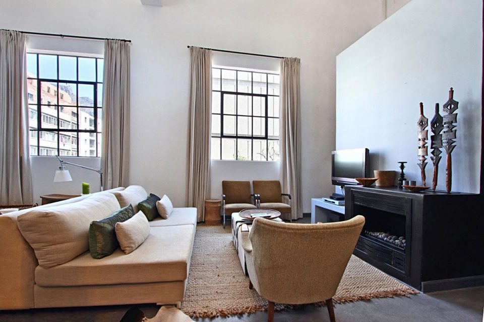 Bandar Place - Living area