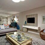 Dunmore Blue - Living & TV area