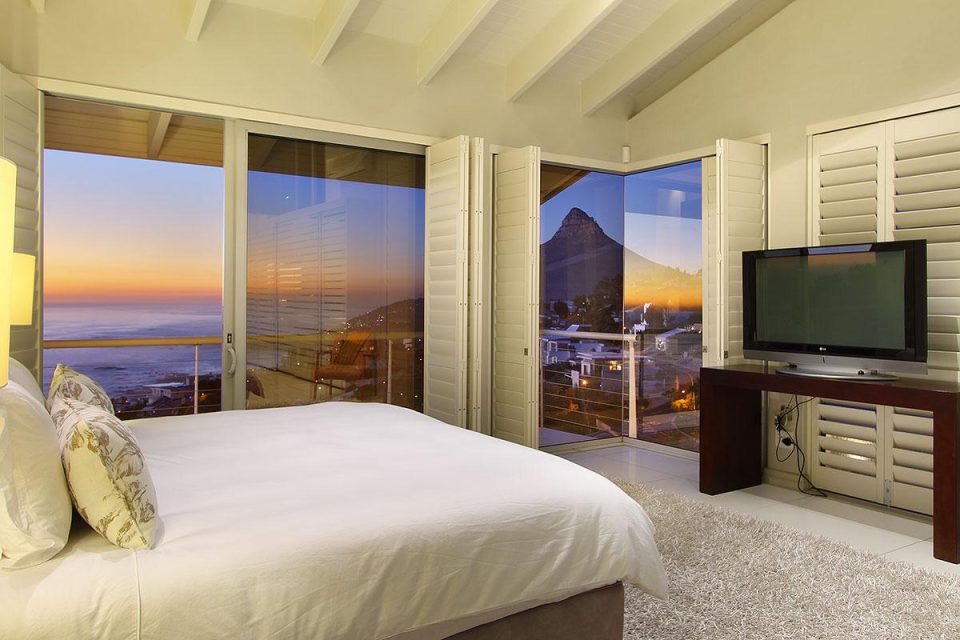 The Falcon - Master bedroom & view