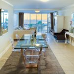 Aqua Views - Living & dining area