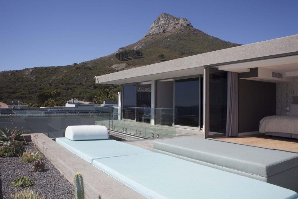 The Cheviots - Top Floor Patio View
