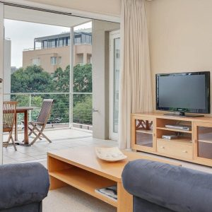 101 Faulconier - Living area with view
