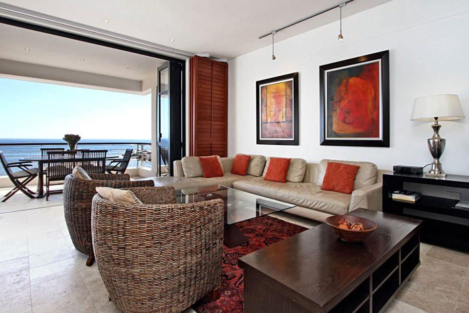 Bali Luxury Suite E - Living area