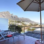 Camps Bay Terrace Suite - Balcony & Umbrella