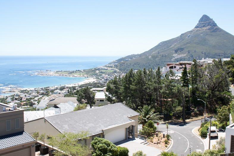 Villa Tierra - Camps Bay view