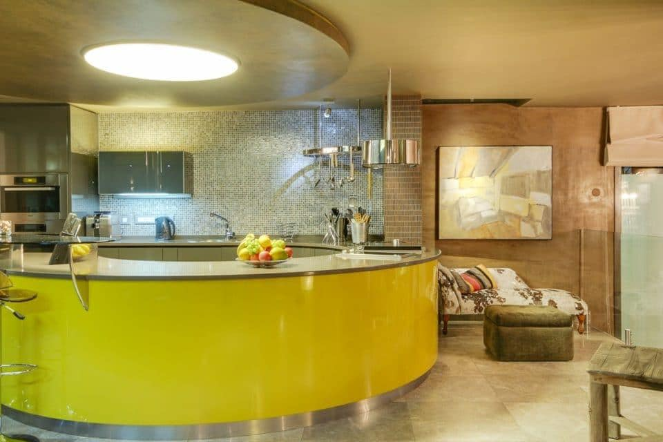 La Grande Vue - Kitchen counter