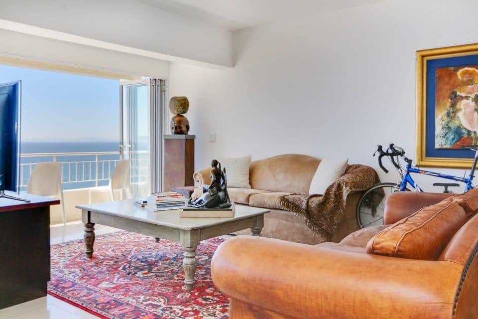 Atlantic Spray - Living area & balcony