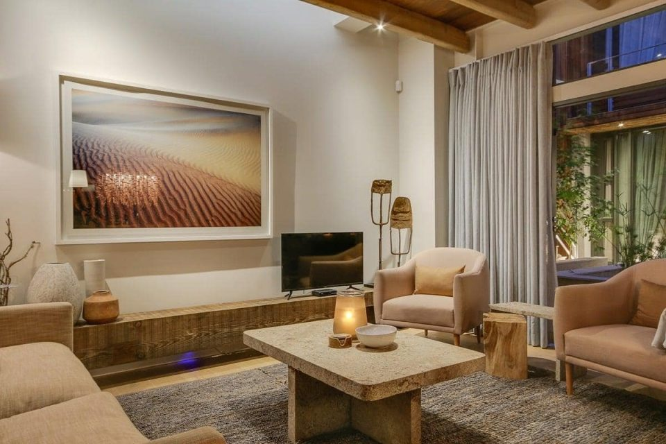 155 Waterkant - Living area