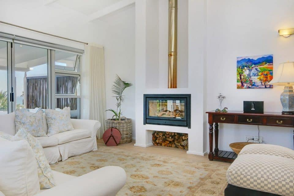 Shanklin Road - Living area & Fire place