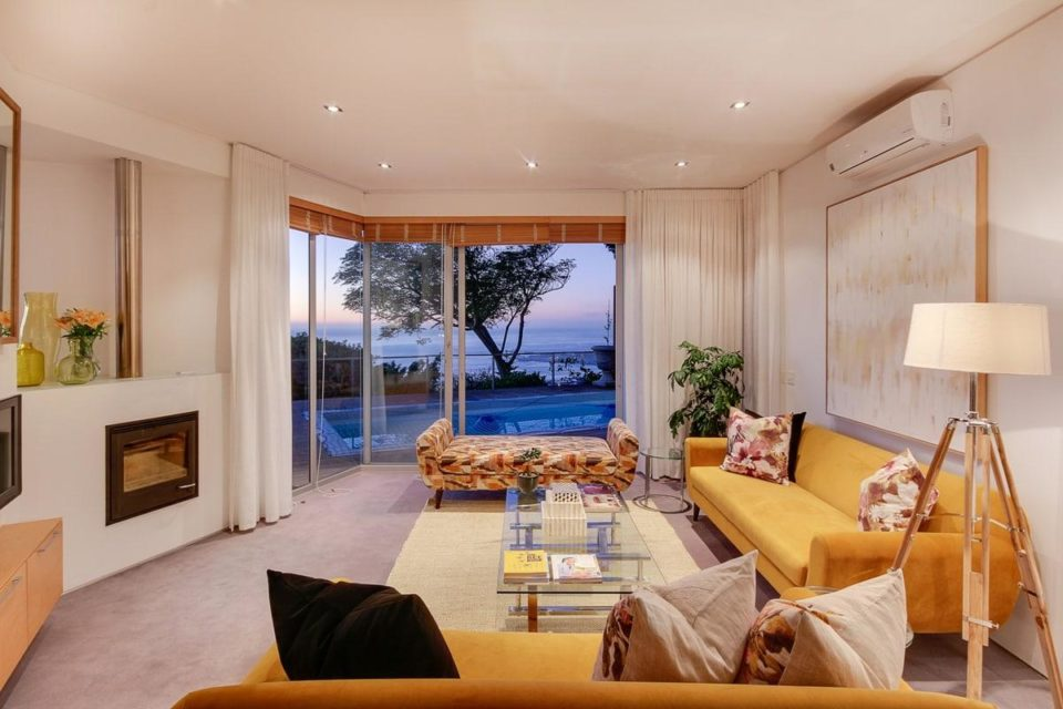 Villa Grenache - Living area & view