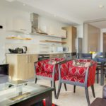 Canal Quays 603 - Living area and Kitchen
