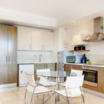 Canal Quays 706 - Kitchen and Dining table