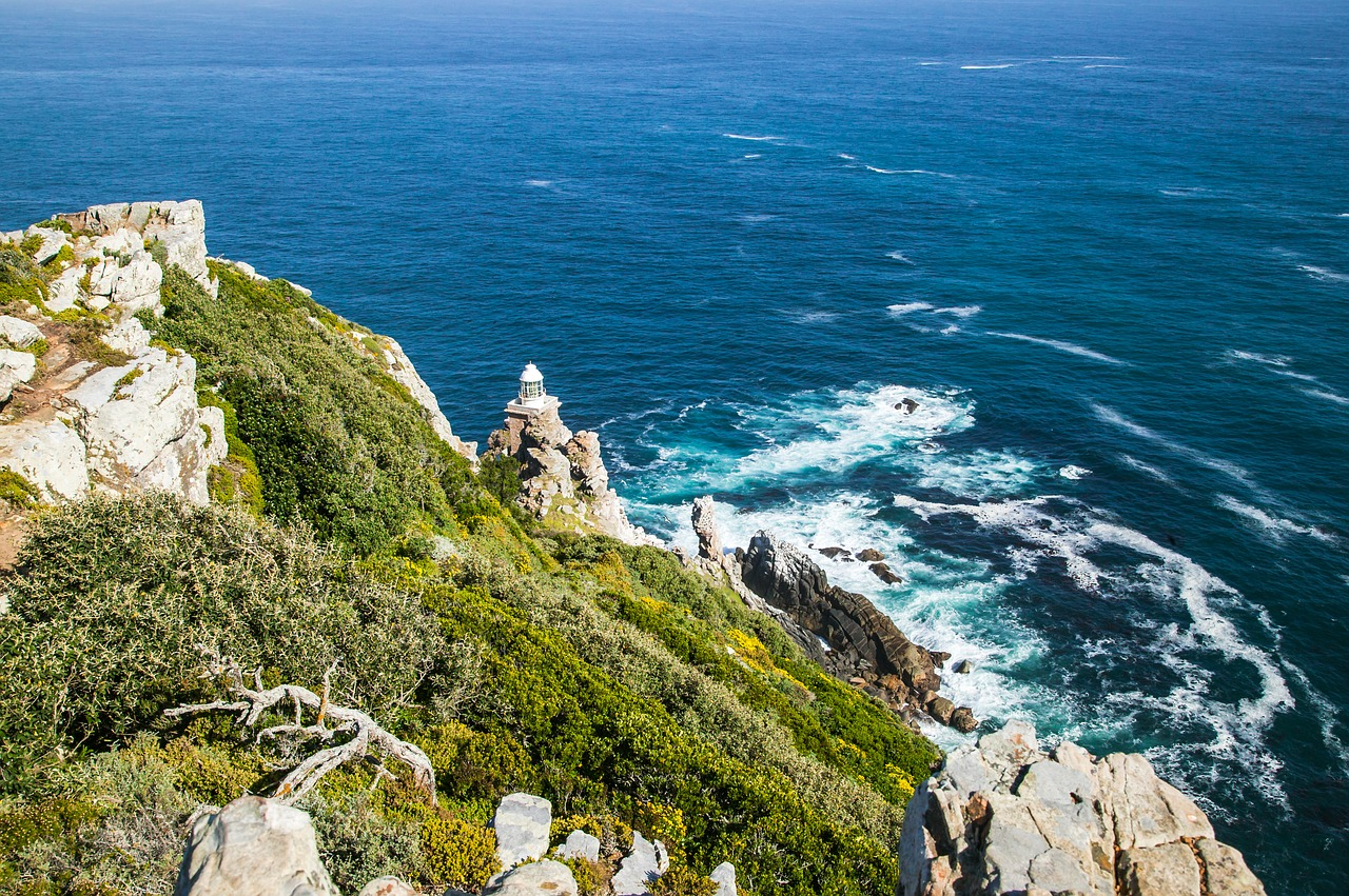 Dias Point Lighthouse at Cape Point