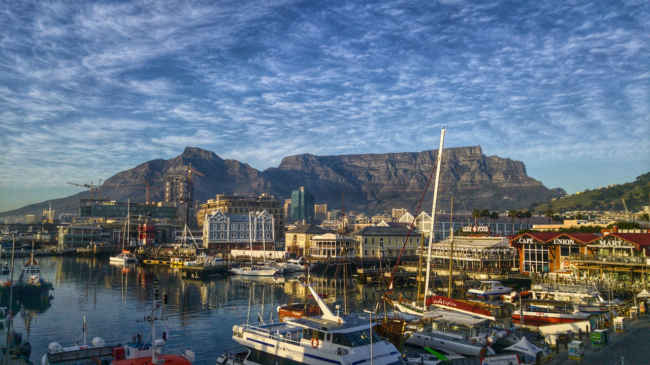 Table Mountain & the V&A Waterfront in Cape Town