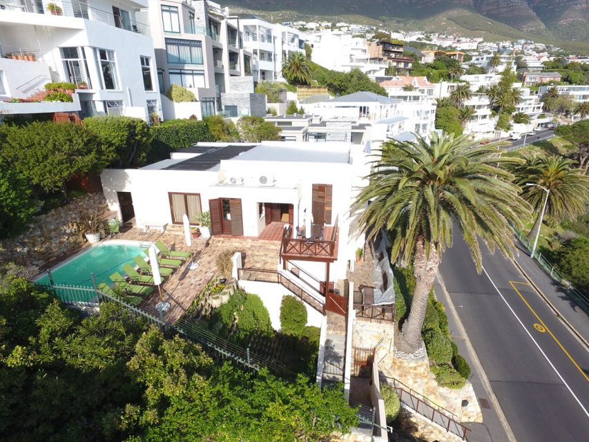 Camps Bay Terrace Palm Suite  - Drone Image