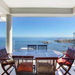 Bali Luxury Suite E - Outdoor dining & sea views