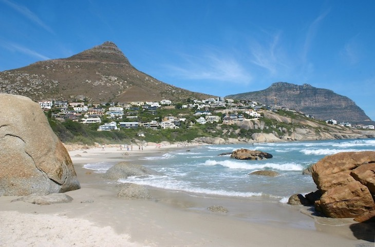 Llandudno beach in Cape Town