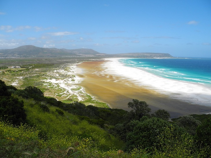 Noordhoek beach in Cape Town