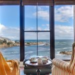 Camps Bay Terrace Lodge - Lounge seating with a view