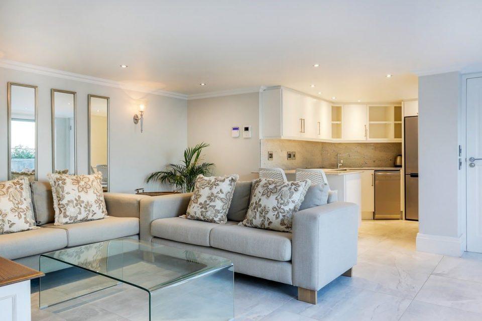 Castle Rock - Flatlet Living area