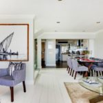 Medburn Alcove - Living & Dining area