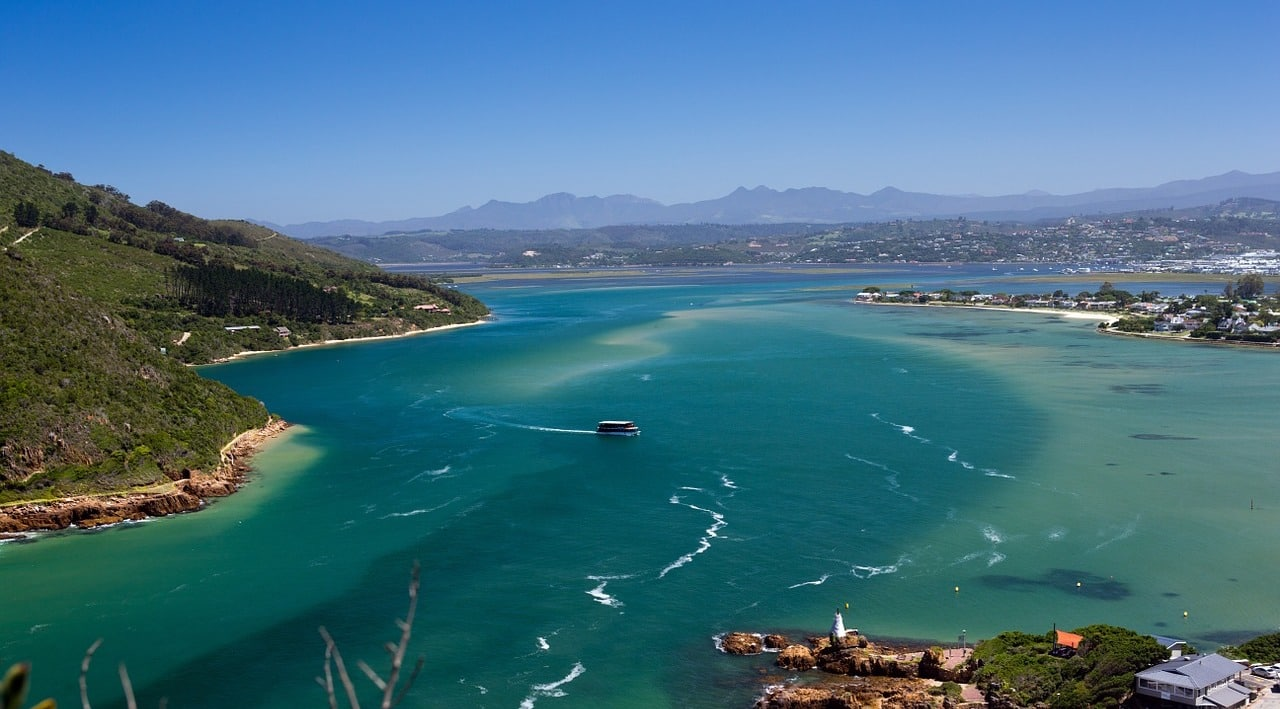 Knysna Lagoon in the Garden Route