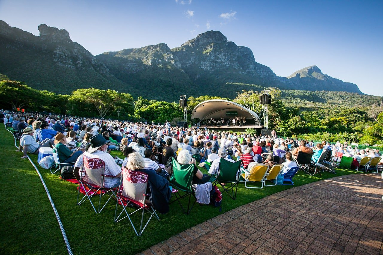 Summer Sunset Concert at Kirstenbosch National Botanical Gardens