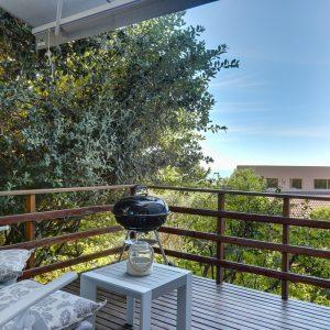 Cape Gray - View 1 -  Weber Braai on Balcony