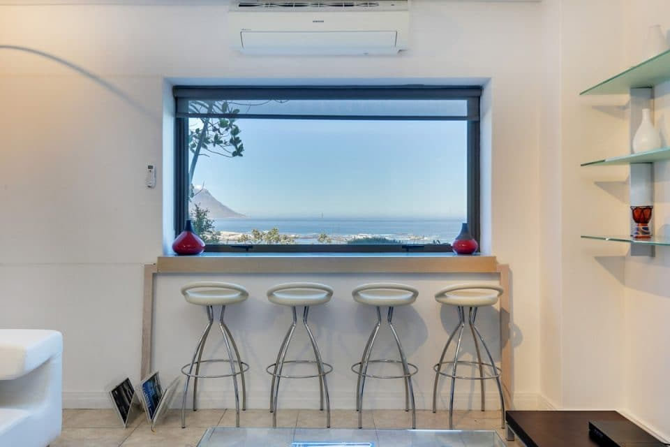Dunmore Place - Bar stools with view