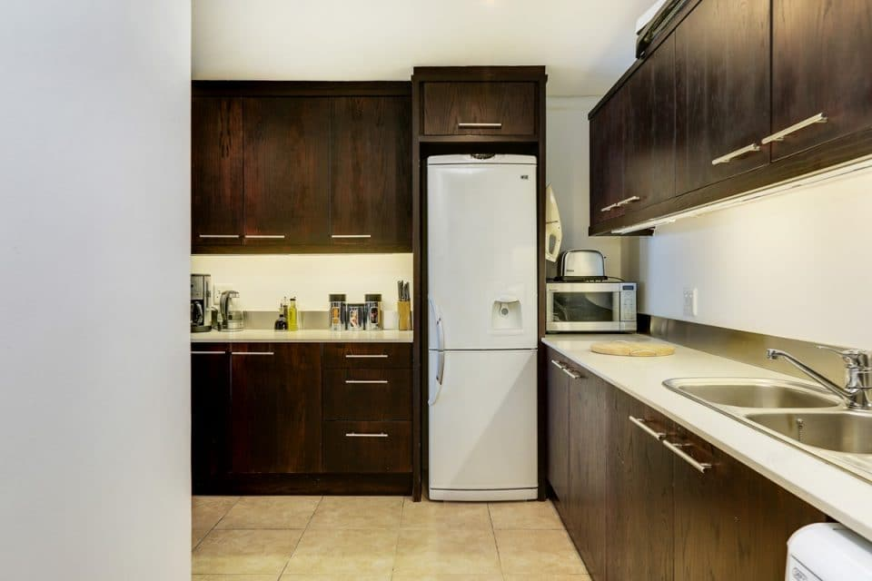 Dunmore Place - Kitchen with fridge