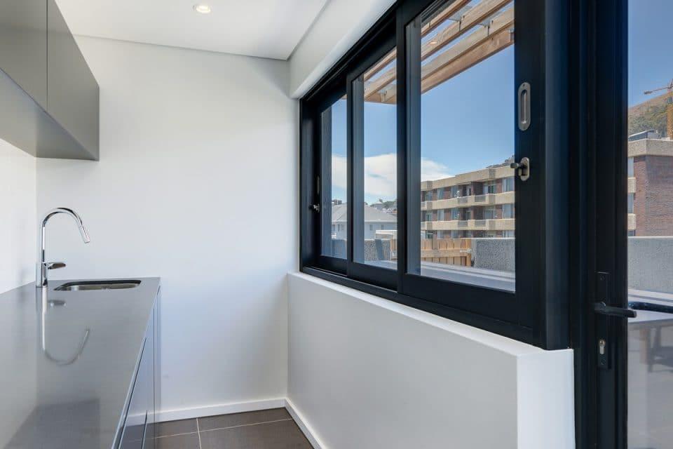 Penthouse on S - Terrace kitchen