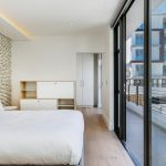Solis 402 - Second bedroom with balcony