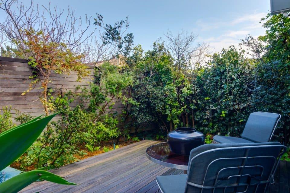 Eames Villa - Deck