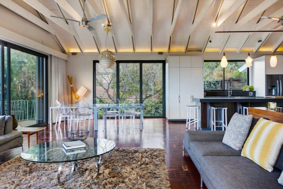 Eames Villa - Living room