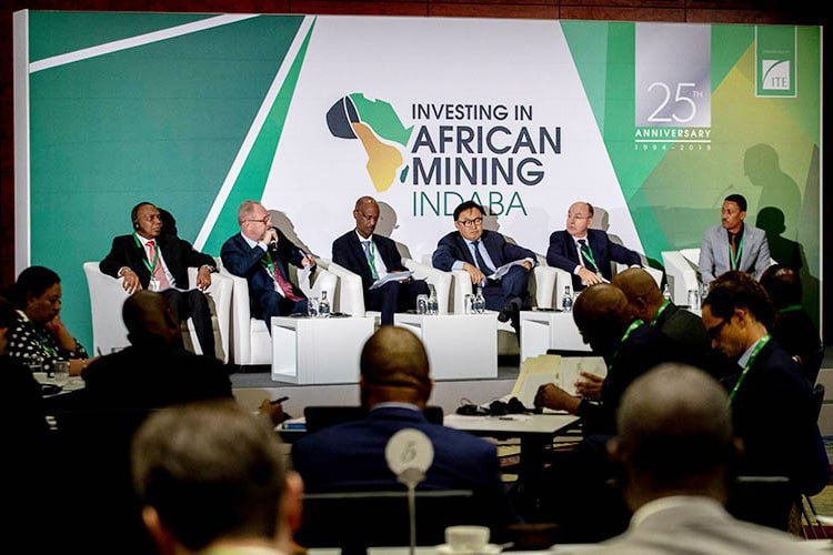 Guest speakers at African Mining Indaba