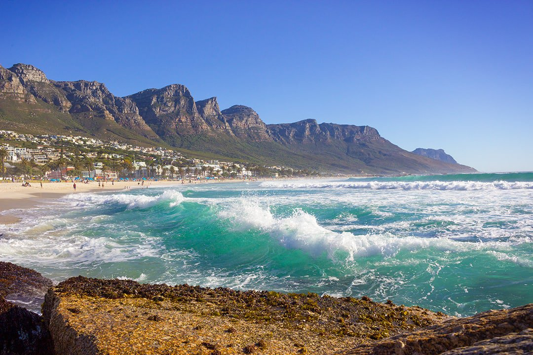 Camps Bay beach and Twelve Apostles can be seen when you book our December deals