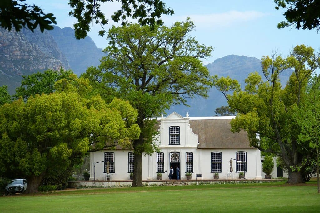 Wine farm in Cape Town