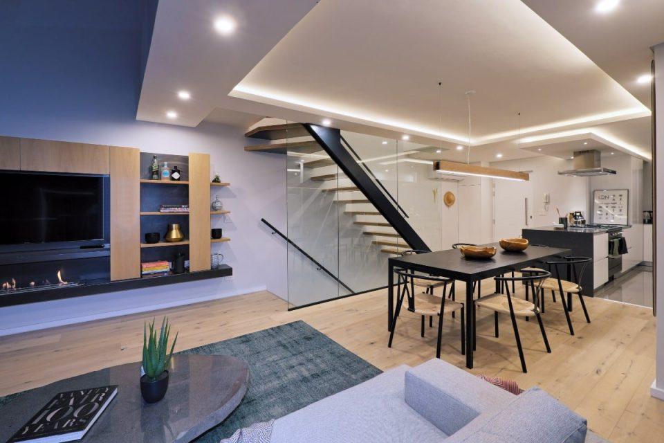 Quendon Penthouse - Living space