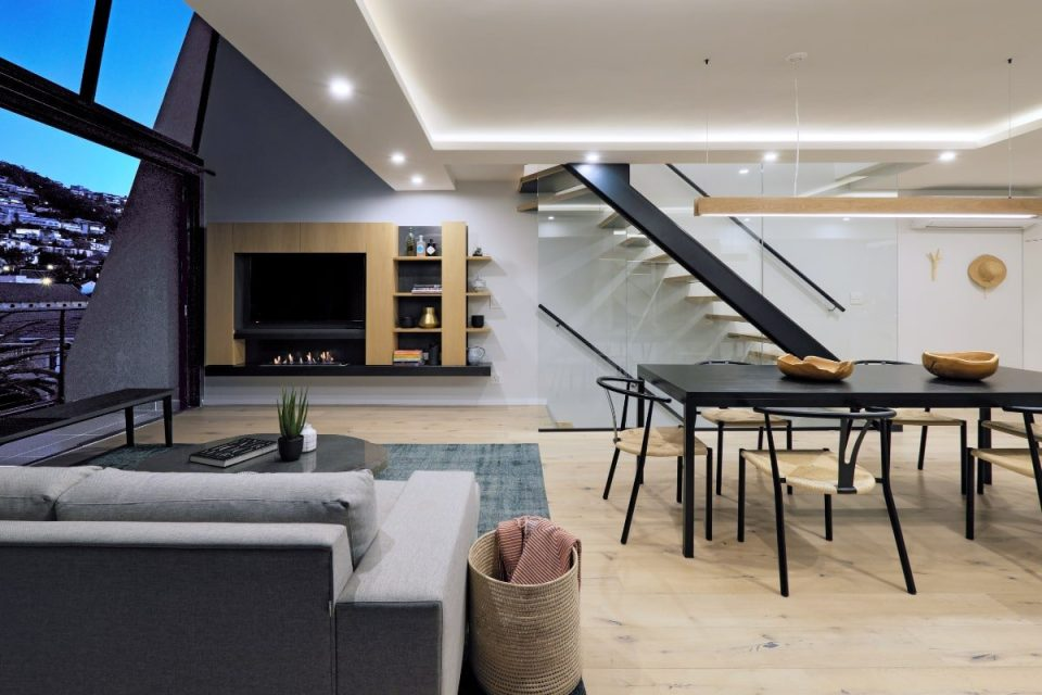 Quendon Penthouse - Lounge & dining