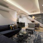 Scholtz Penthouse - Living & Dining