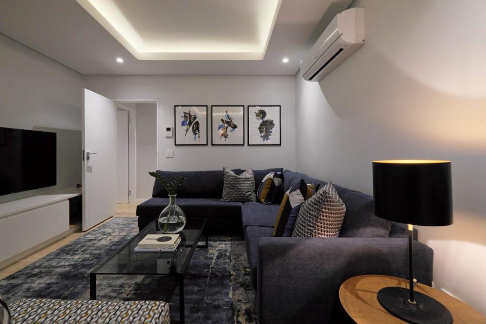 Scholtz Penthouse - Living room