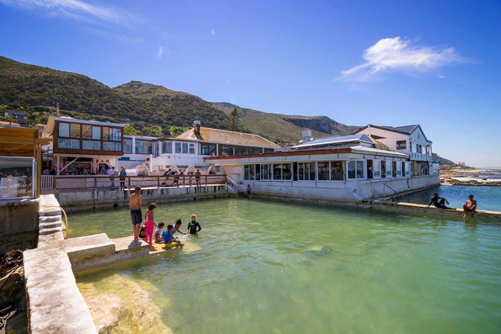 The Brass Bell restaurant in Kalk Bay