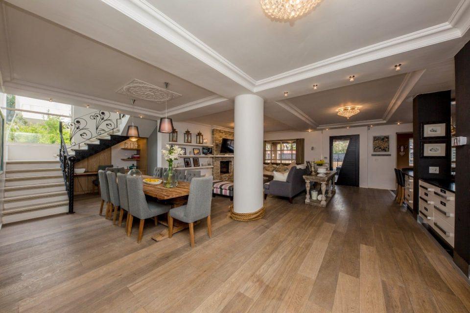 The Grange - Open plan living space