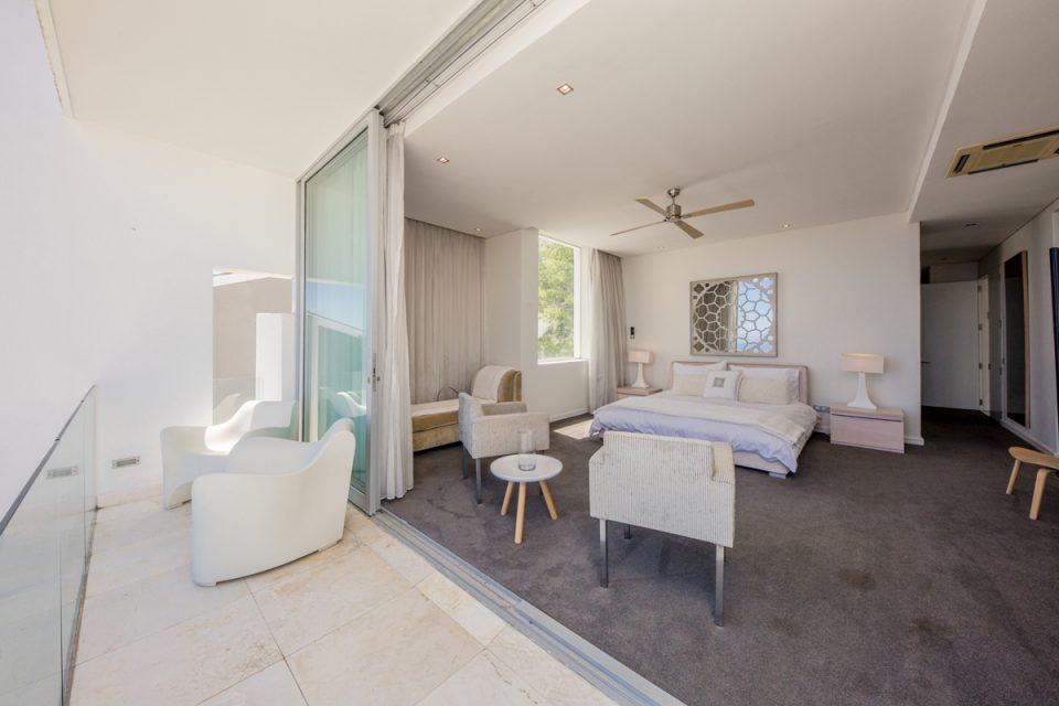 Top Views - Main bedroom