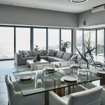 Halo Villa - Dining & Living Area