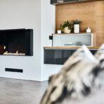 Halo Villa - Fireplace