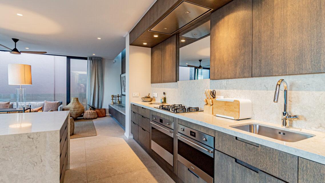 53 Napier - Open Plan Kitchen