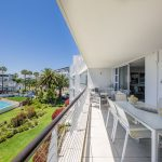 Albright - Balcony & view