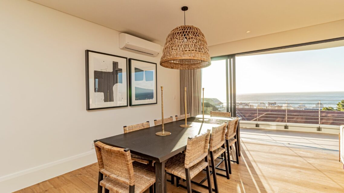 Alpha Sunsets - 8 seater dining room table